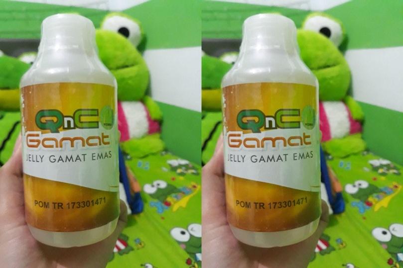 Obat Biduran Herbal QnC Jelly Gamat